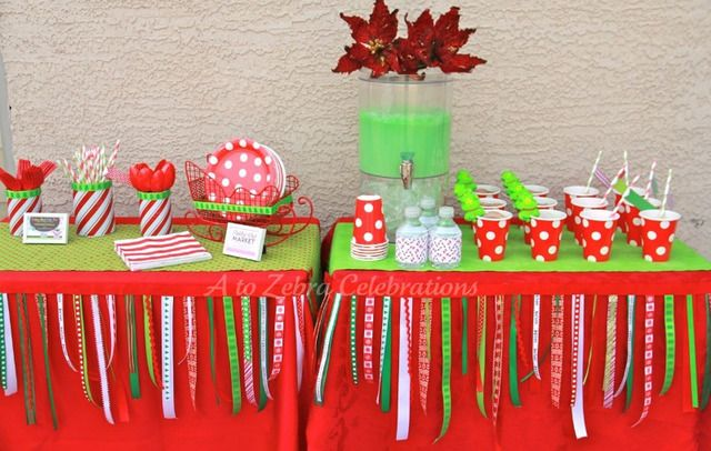 Kids Toy Drive Christmas Holiday Party Ideas Diy Christmas Party Christmas Party Decorations Diy Christmas Party Decorations
