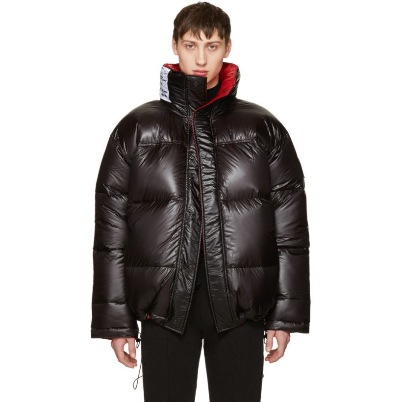 Reversible Black Canada Goose Edition Down Coat