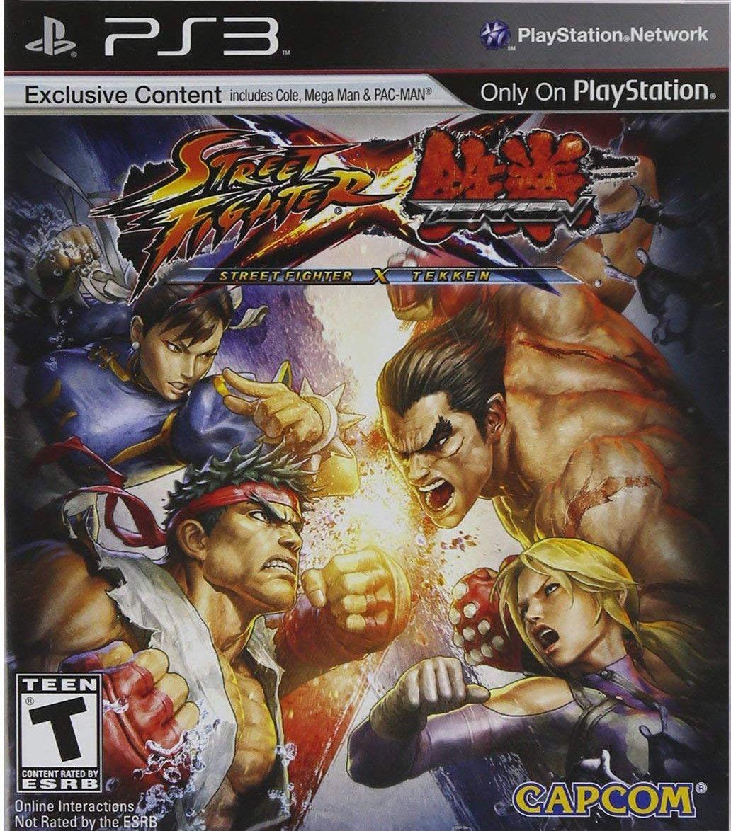 #StreetFighter X #Tekken