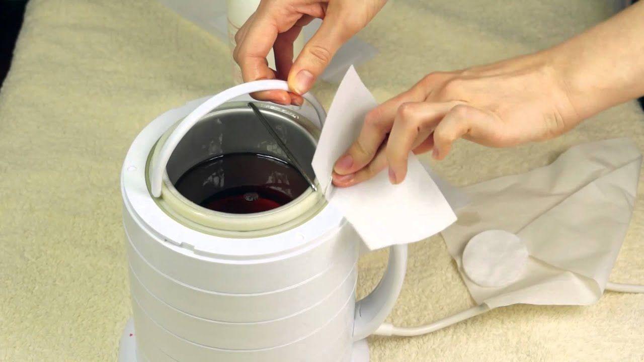 طريقة تنظيف جهاز الشمع بعد الاستخدام 5 خطوات و 5 نصائح Wash Wax Wax Machine Cleaning