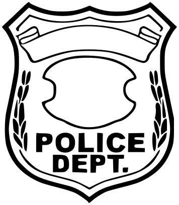 Police Line Flag Clipart Police Badge 25