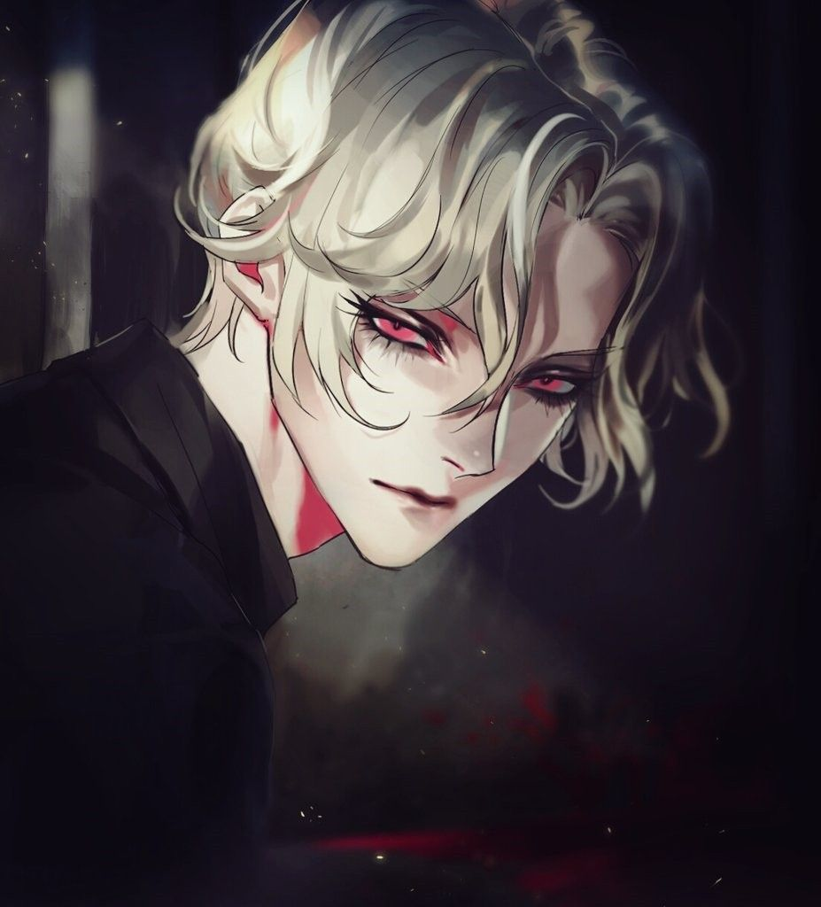 Dark Anime Art That Is Made Up For Cause They Are Hot Cute Anime Guys Handsome Anime Anime Guys