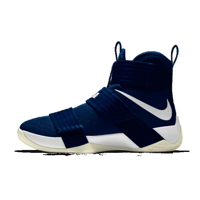 Nike Zoom Lebron Soldier 10 Id Men S Basketball Shoe High Top Basketball Shoes Jordan Shoes Girls Nike Basketball Shoes