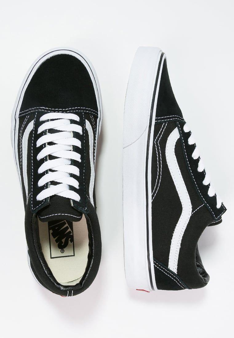 Chaussures Vans OLD SKOOL Chaussures de skate black noir