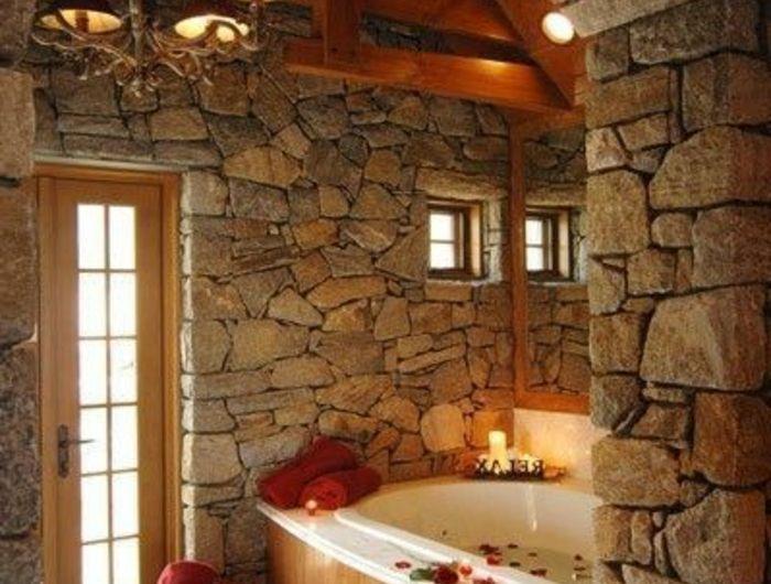 Le mur en pierre apparente en 57 photos! Pinterest Stone
