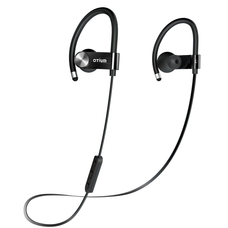 Otium Wireless Sport Bluetooth Headphones Hd Beats