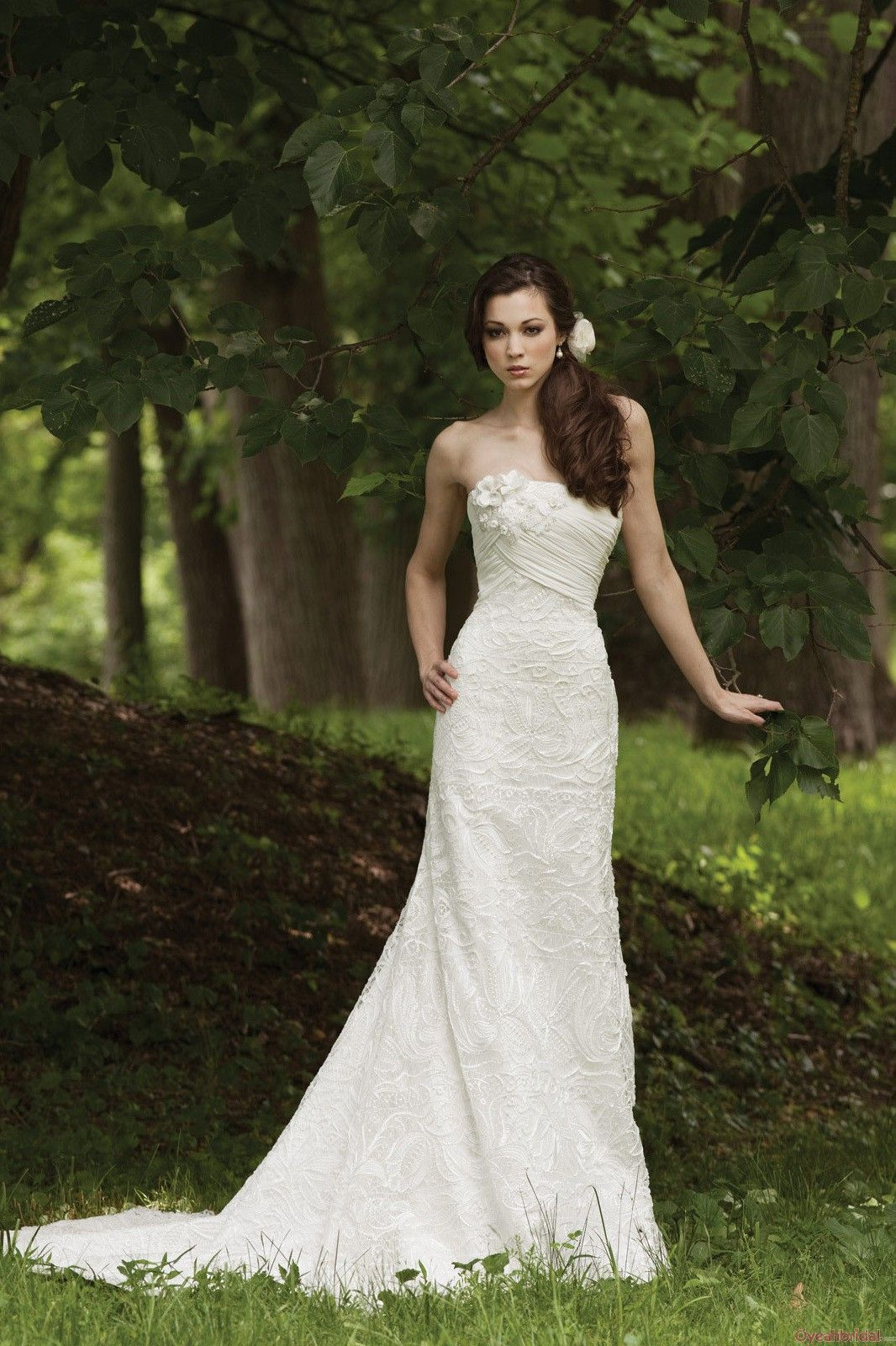 Embroidery Affordable Wedding Dresses Under 250 Sale  WD-4337