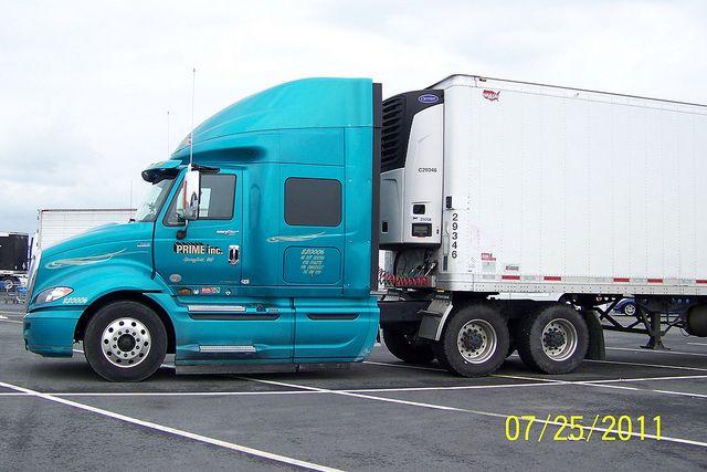 Prime Inc International Prostar Trucks Truck Driver Large Cars