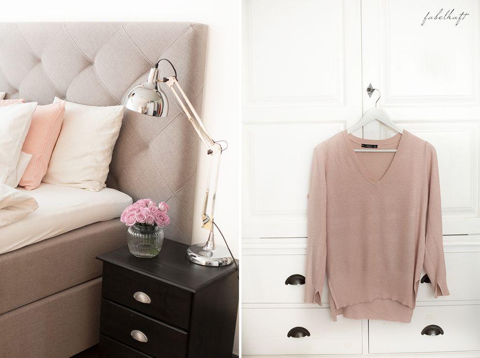 Mein Schlafzimmerumstyling heute in Blog! - Schlafzimmer einrichten - schlafzimmer einrichtung nachttischlampe