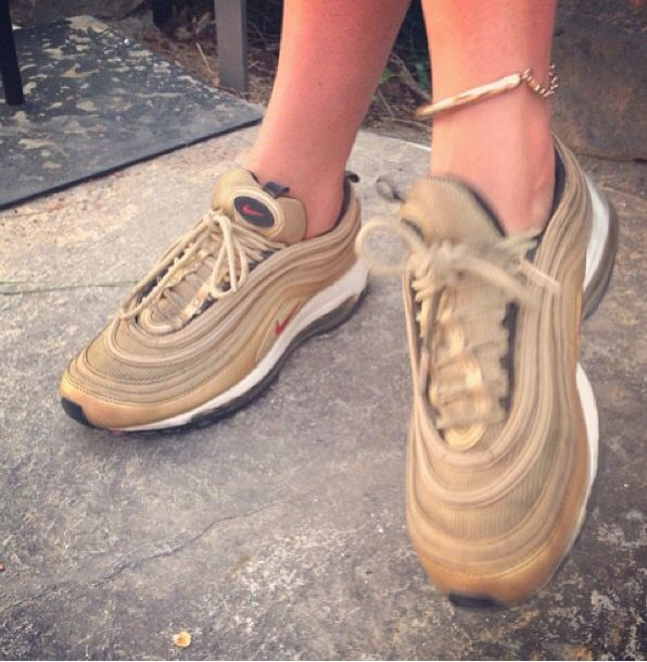 classic fit 34464 58593 Nike air max 97 gold
