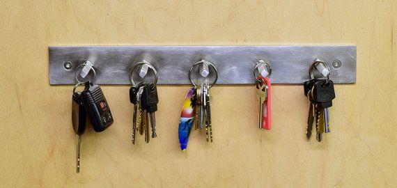 Key Rack Ring Holder Wall Modern Minimal