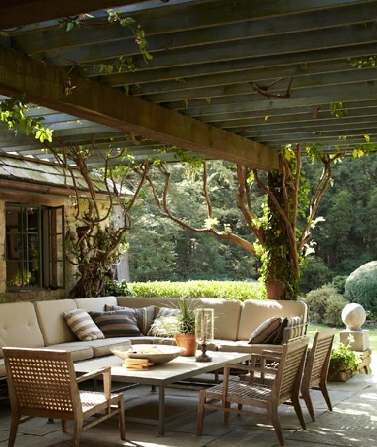 Pergola campagna toscana the back porch pinterest - Wintergarten ffb ...