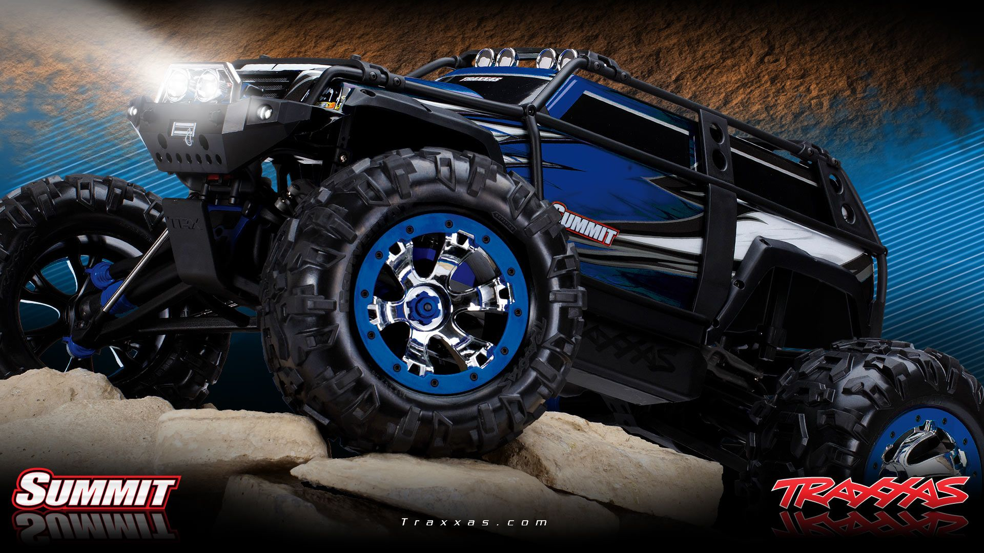 Traxxas Summit Remote Control Cars Rc Trucks Screensaver Used Slash For Sale