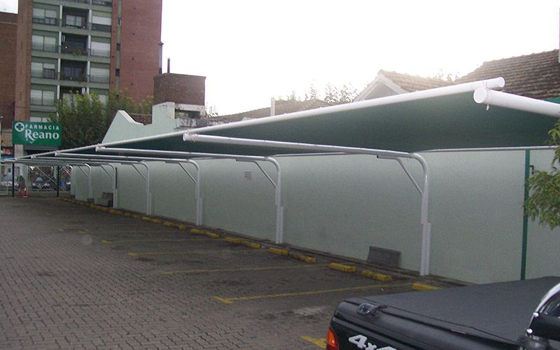 Resultado de imagen para toldos para estacionamiento de for Toldos para estacionamiento
