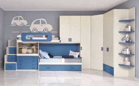Camerette Mondo Convenienza 2017 - Cameretta Bit   Kids rooms, Room ...