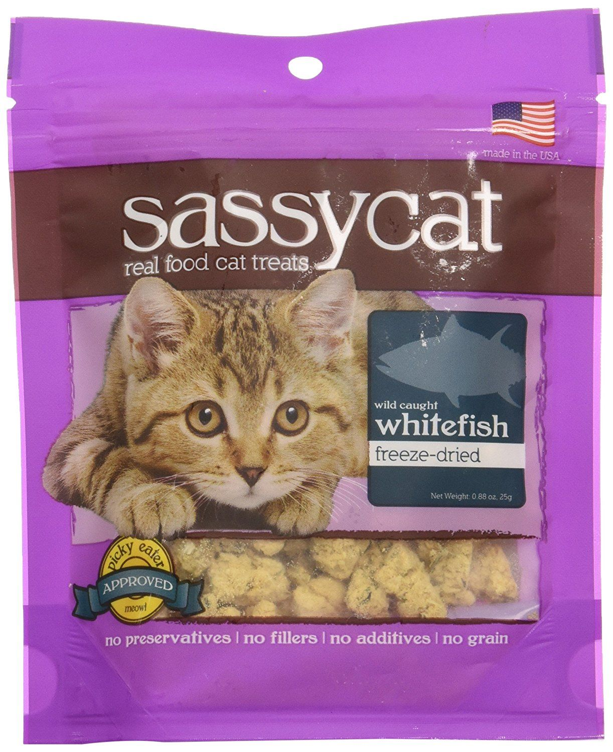 Herbsmith Freeze Dried Whitefish Formula Sassy Cat Treats 1 25 Oz Click On The Image For Additional Details Cat Treats Sassy Cat Cat Pet Supplies