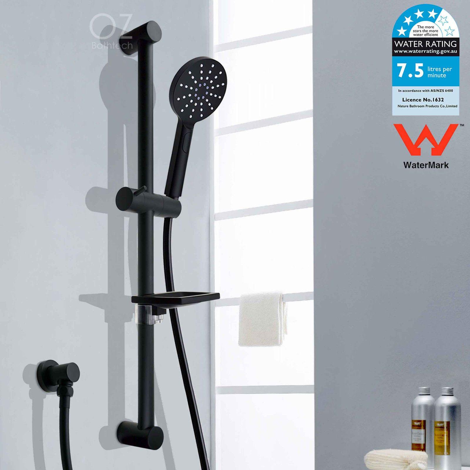 Shower Head & Sliding Rail. Shower Head & Arm Set. With soap dish ...