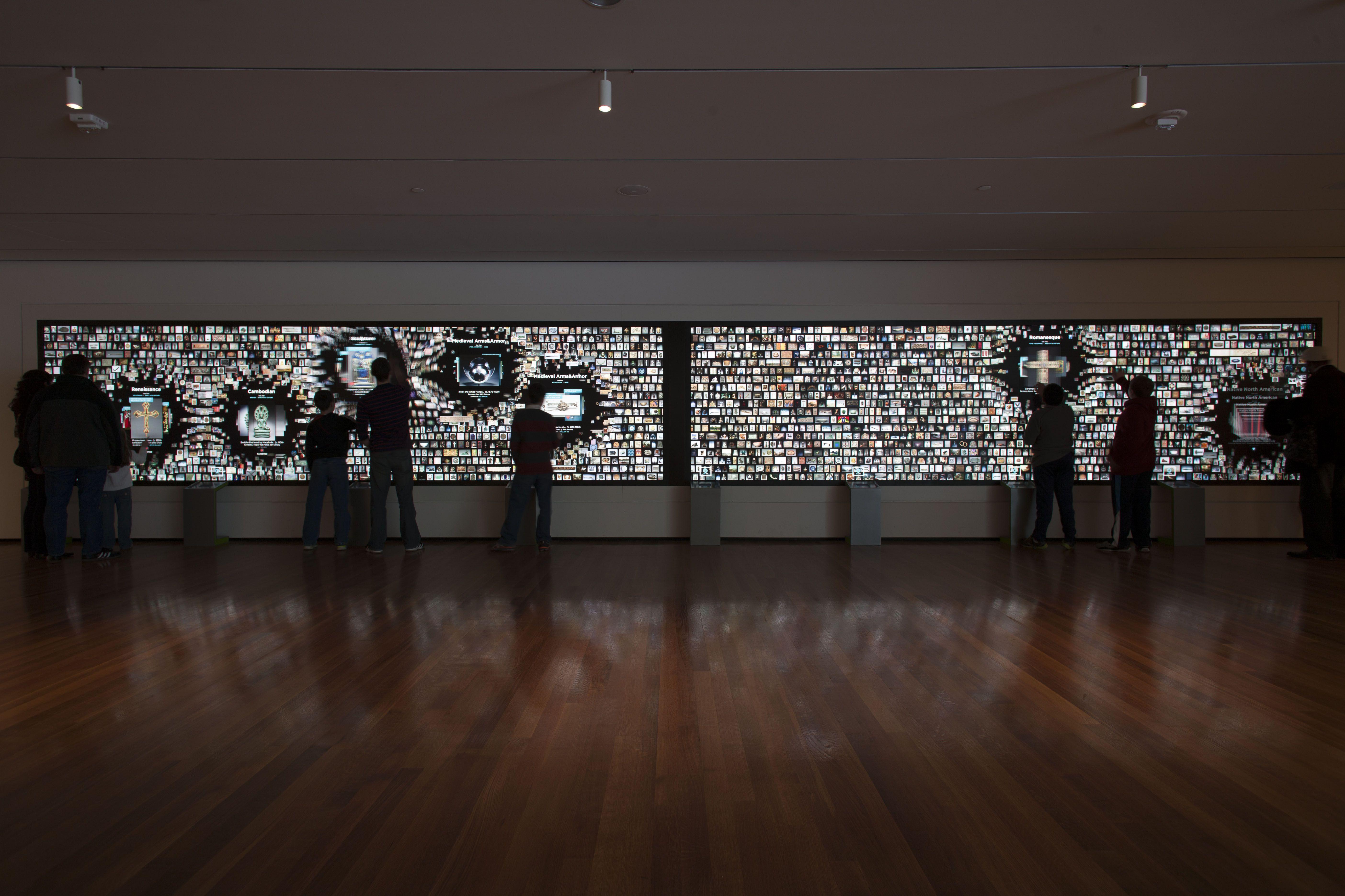 Interactive Art Wall Artwork Experience