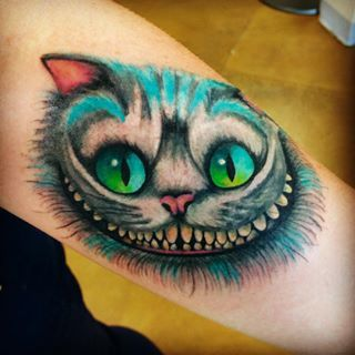 Tim S Cheshire Cat All Other Cheshire Cats Tats Pinterest