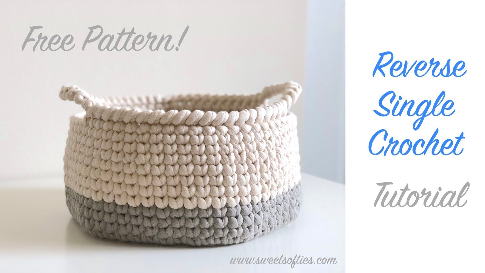 How to Crochet the Reverse Single Crochet Stitch [Video Tutorial ...