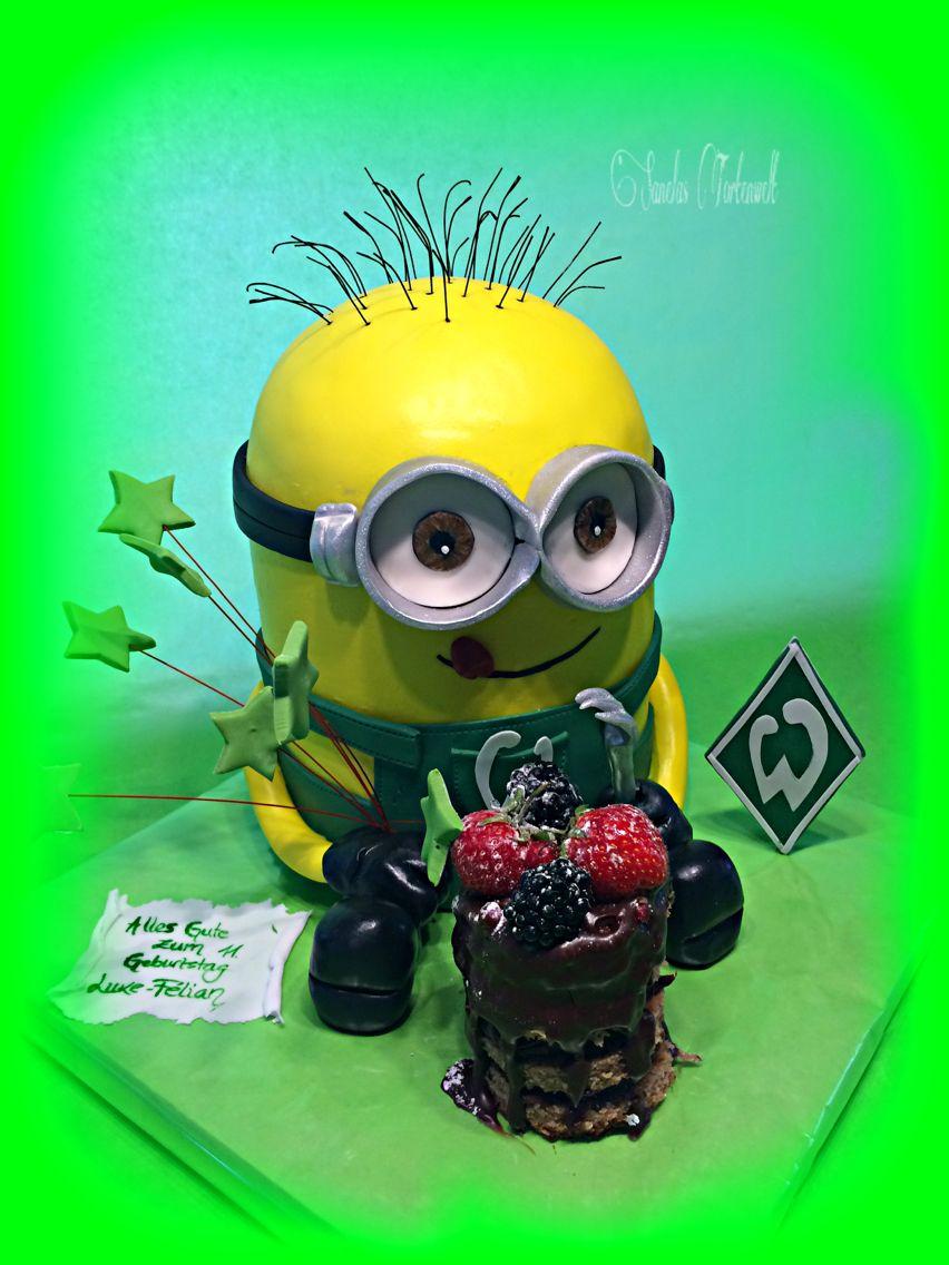 Perfect D Minion Cake Kuchen Werder