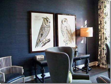 Trends Grasscloth Wallpaper Interior, Seagrass