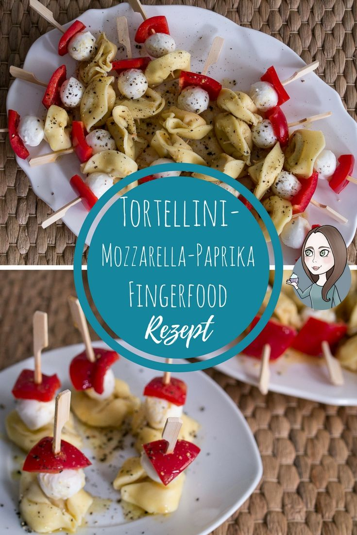 Photo of Tortellini mozzarella peppers skewers recipe – MakeItSweet.de