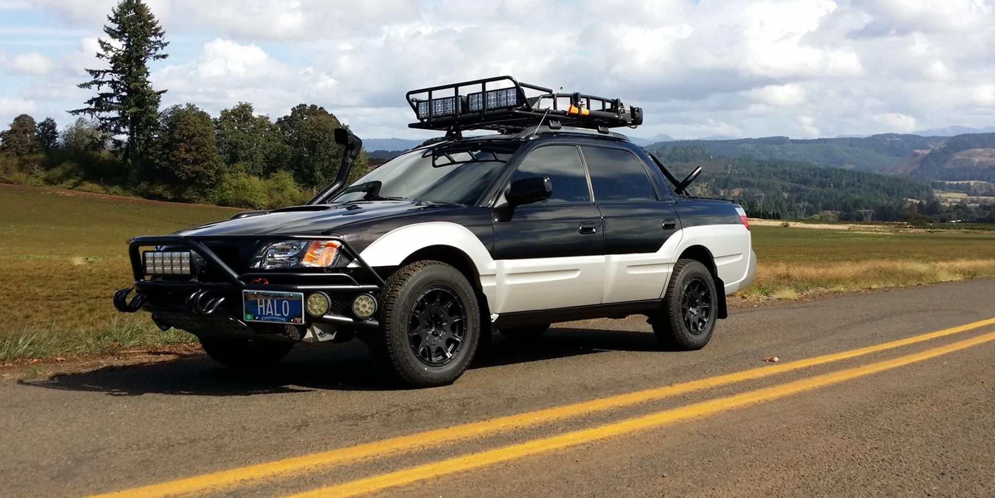 Ryan Callas Off Road Ready 2003 Subaru Baja