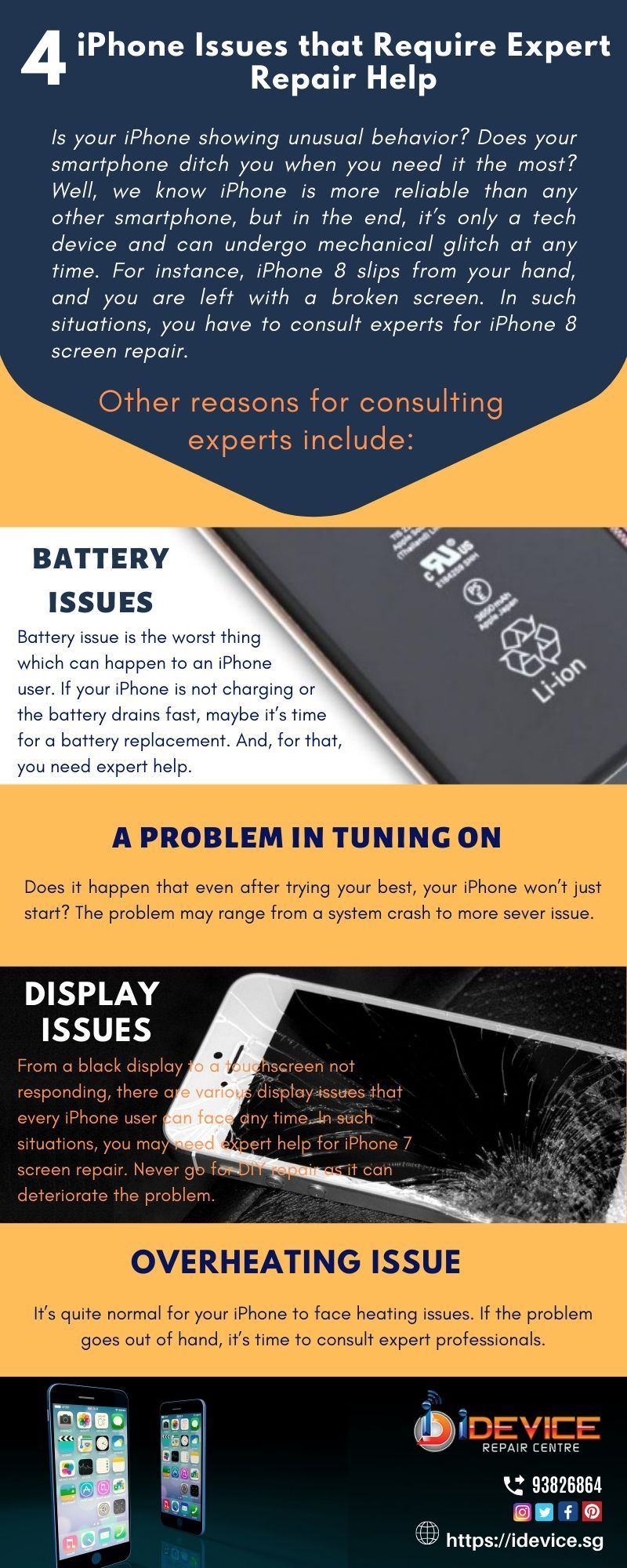 4 iPhone Issues that Require Expert Repair Help If your
