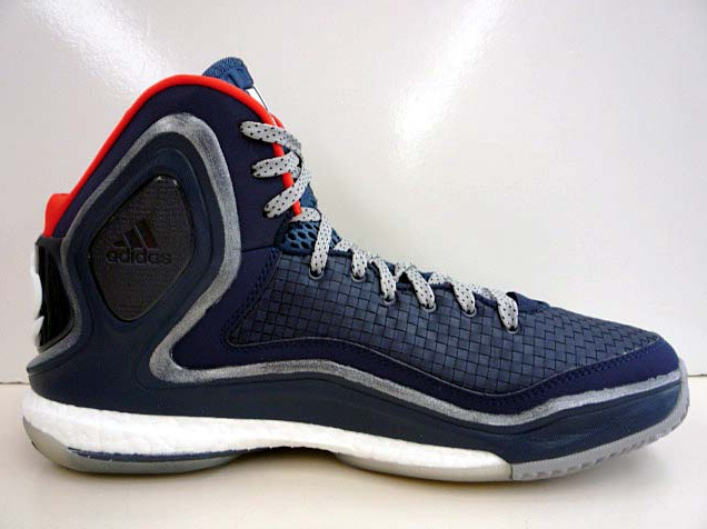 timeless design 4e555 f310f adidas D Rose 5 Boost Chicago Bears - Detailed Look - WearTesters