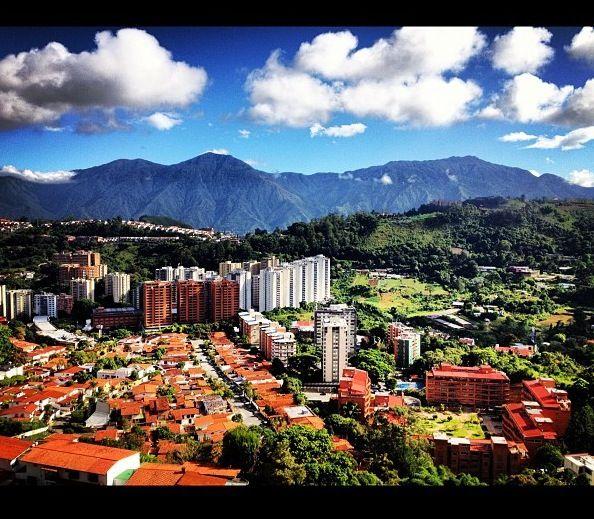 Caracas- vista de la ciudad para relajar