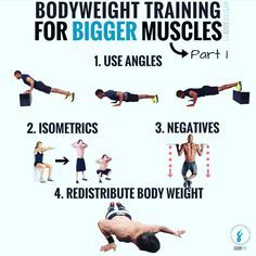 i love bodyweight training and have experimented with it a