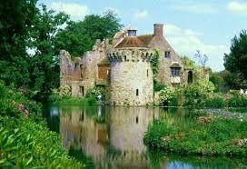 Tunbridge Wells, Kent, England. Scotney Castle...