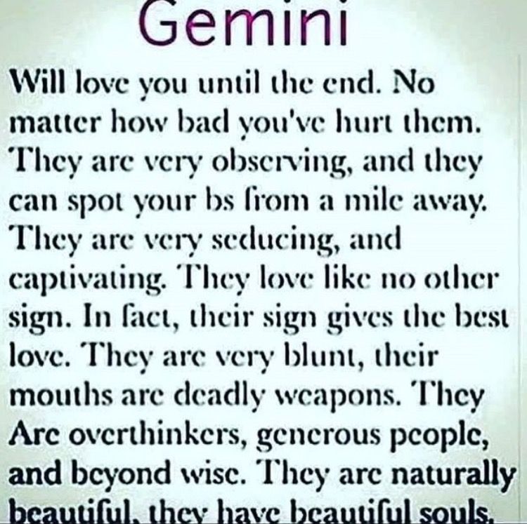 gemini and love