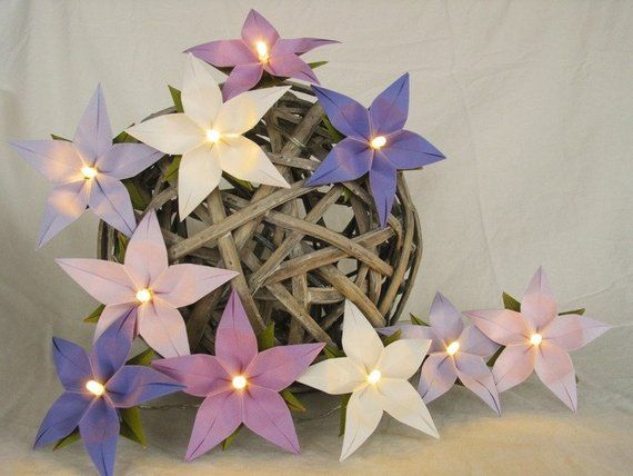 lighter chain lavender led night light lamp for children. Black Bedroom Furniture Sets. Home Design Ideas