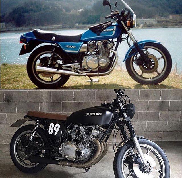 suzuki gs500 by m2 garage cafe racer