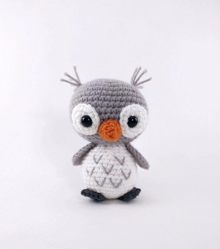 Owl Friends Amigurumi Pattern | bebé | Pinterest | Peluches, Regalos ...