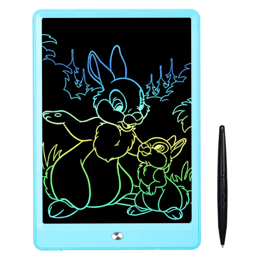 10 Inches Light Drawing Board Doodle Pad Early Educational Writing Board for Kids Pilipada LCD Writing Tablet Colorful Drawing Tablet