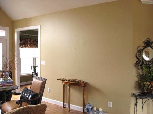 A Salon Wall House Color Schemes House Colors Paint