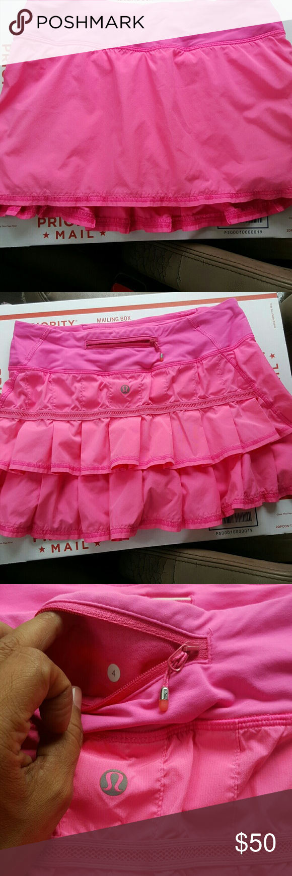 Lululemon Pacesetter Skirt Size 4 Tall Excellent Condition....Tall lululemon athletica Skirts