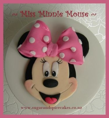 Minnie Mouse Cake Topper Images for Cakes Pinterest Minnie