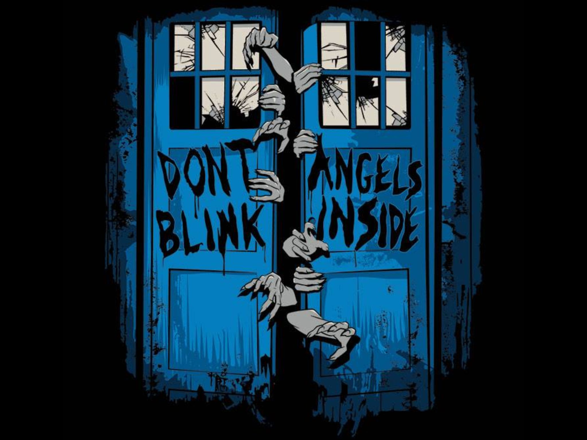 Don't Blink, Angels inside Doctor who, Doctor
