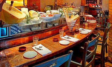 One Of Top Ten Italian Restaurants In Dubai Cucina Tel 971 4