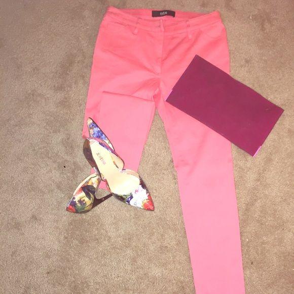 Pants Peachy/Pink skinny leg pants Cutz Pants Skinny