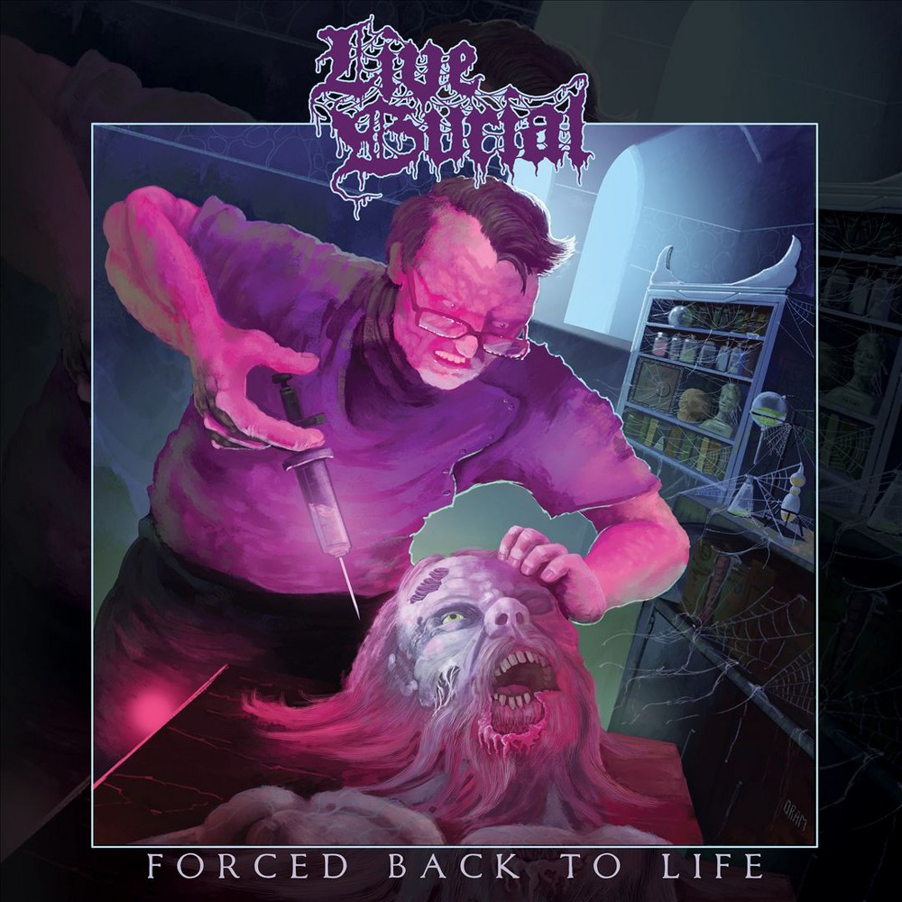 Live Burial Forced Back to Life (Vinyl) Lp vinyl, Life
