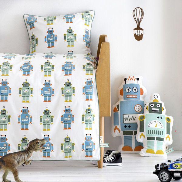 Modern Pas Messy Kids Lovable Robots