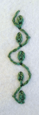 detached chain stitch | Quieter Moments