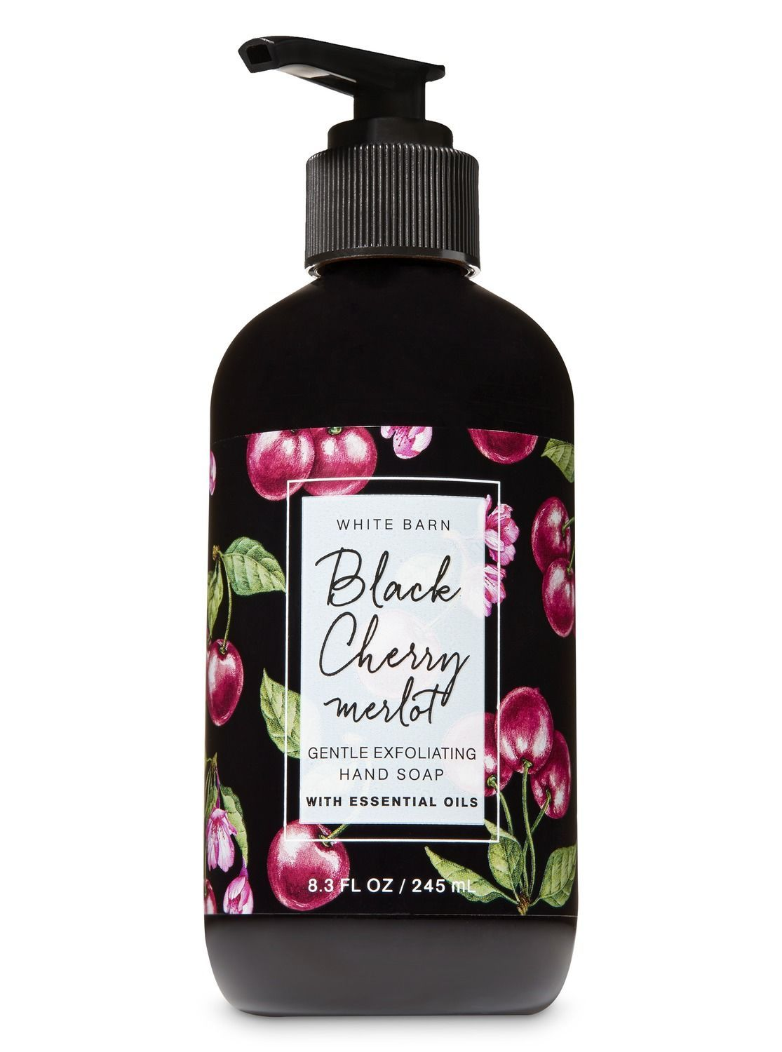 Black Cherry Merlot Gentle Exfoliating Hand Soap By Bath Body