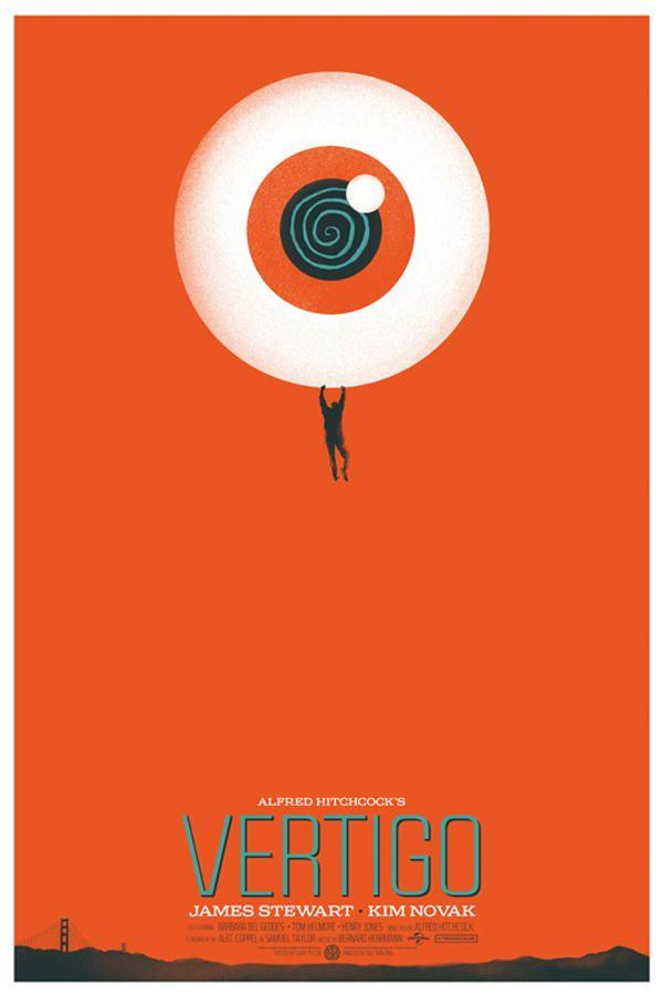 Alfred Hitchcock's Vertigo is part of Mondo posters, Vertigo poster, Movie posters, Movie posters minimalist, Movie posters design, Minimal movie posters - See more 'Minimal Movie Posters' images on Know Your Meme!