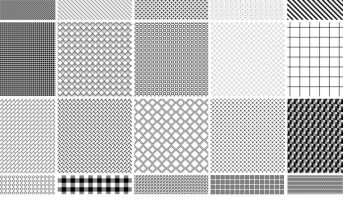 Lots Of Free Photoshop Pixel Patterns Pixel Photoshop Pixel